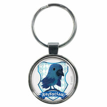 Harry Potter Ravenclaw Cartoon Keychain Silver - $8.98