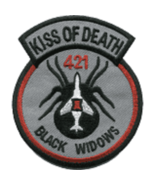 USAF 421 Tactical Fighter Squadron Patch - $11.87