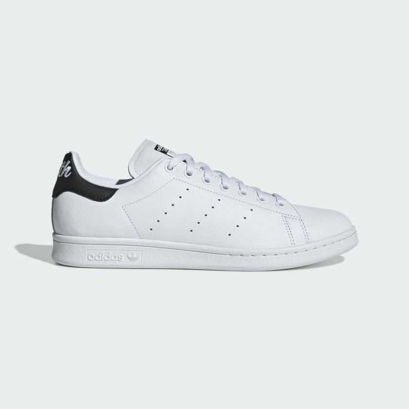 Adidas Originals Men's Leather Stan Smith Iconic White Sneakers EE5818 image 2