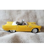 1:24 Scale - 1/24 Scale - Yellow Ford Thunderbird Convertible - $9.99
