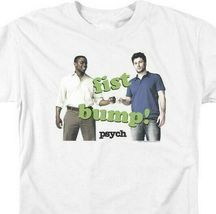 Fist Bump T-shirt Psych comedy drama TV series Shawn Spencer graphic tee NBC910 image 3