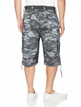 Men's Tactical Military Army Camo Camouflage Slim Fit Cargo Shorts With Belt image 8