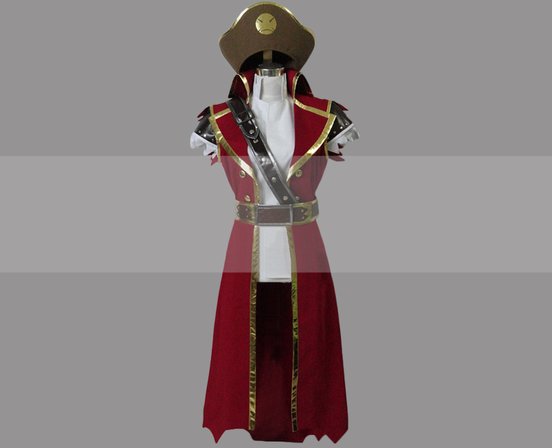 League of Legends LOL Gangplank Cosplay Costume Buy