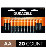 Duracell - CopperTop AA Alkaline Batteries - long lasting, all-purpose D... - $17.99