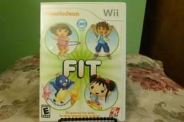 Nickelodeon Fit (Nintendo Wii, 2010) VG W/Manual - $7.91
