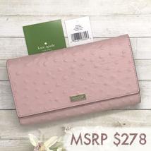 NEW Kate Spade Alexander Avenue Phoenix Pink Leather Trifold Wallet #wlru4188 - $99.00