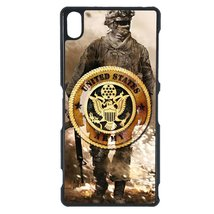 U.S. Army Sony Z4 case Customized premium plastic phone case, design #6 - $12.86