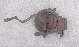 Antique A. H. Patch Black Hawk Cast Iron Corn Sheller Farm Tool Clarksvi... - $42.08