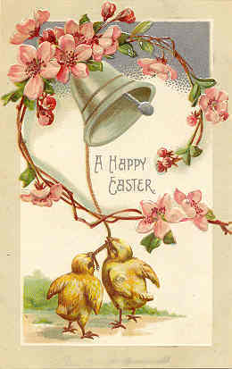 Happy Easter Vintage Post Card