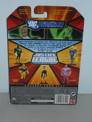 2008 DC Universe Justice League Green Lantern John Stewart Figure New In Package