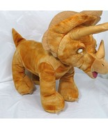Build A Bear BAB Triceratops Dinosaur Brown Plush Stuffed Animal Toy 14 ... - $19.79