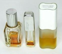 Vintage Estee Lauder Perfume 3 Piece Mixed Lot Aliage & White Linen Used... - $23.00