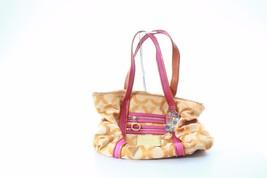 Coach designer handbag purse poketbook shoulder straps Orange Zipper pin... - $69.79