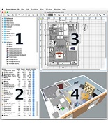 3D Home Design & room planner 3D CAD software PRO - $3.00