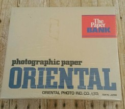 NEW Oriental Paper Bank Photographic Print Storage Box Seagull Darkroom Sealed image 1