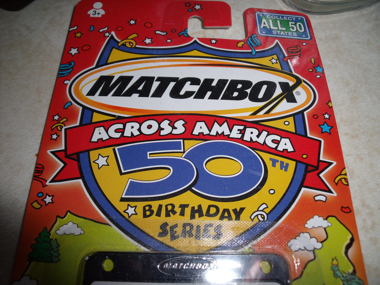 Matchbox Across America 55 Chevy Convertible California Dreamin' Birthday Series