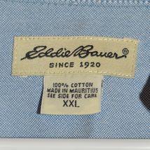 Eddie Bauer Women's Light Blue Long Sleeve Button Down Collared Shirt Size 2XL image 3
