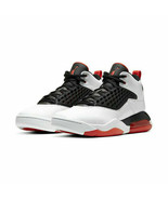 Nike Air Jordan Maxin 200 white team orange Basketball shoes 4.5Y-7Y cd6... - $36.39
