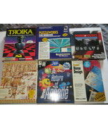 "Lot of 6 Assorted 3.5"" and 5.25"" Floppy Disk Games and Applications for ... - $44.54"