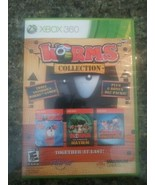 Worms Collection for Xbox 360 Complete Tested Rare - $17.81
