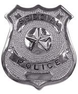 Silver Special Police Shield Badge - $9.99