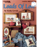 CROSS STITCH LOADS OF LOVE LEISURE ARTS 852 - $3.00