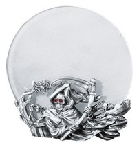 Grim Reaper Pewter Gothic Votive/Candle Holder - $17.99