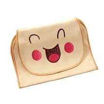 Simple Style Cotton Material Baby Towel for Sweat Absorbent, L Size
