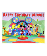 Mickey Mouse Clubhouse edible cake image frosting sheet party decoration - $7.80