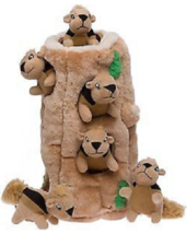 Squeaky Pet for Large Dogs Hide A Squirrel Puzzle Dog Toy Plush (Ginormo... - $52.00