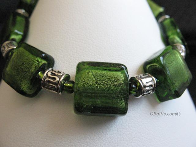Green Bracelet  #BG0800001