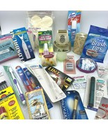 Junk Drawer Lot Health Beauty Vanity Medicine Cabinet Dental Personal Ca... - $34.95