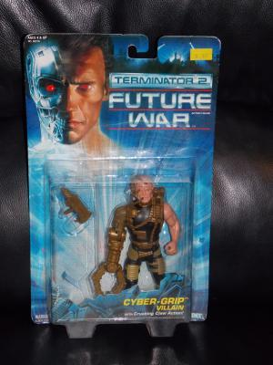 1992 Terminator 2 Cyber-Grip Villian Figure New In The Package