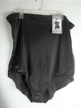 Catherines Intimates Firm Control High Waist Brief Black 10X Shapewear - $17.77