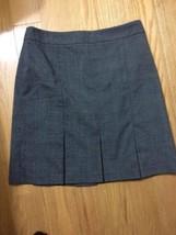 #b346- Ann Taylor Loft Petite bray checks career skirt, lined, size 6P - $13.42