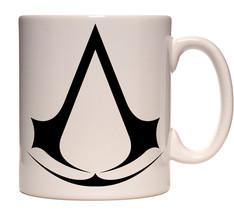 Assassins Creed Game Assassins Crest Logo 12 oz Ceramic Coffee Mug NEW U... - $7.84