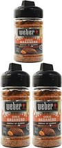 3 New Weber Garlic Habanero Scorchin Hot Seasoning 3OZ Each Steak Chicken Fish - $21.11
