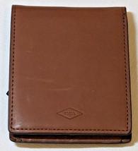 Fossil Knox Bifold FP ID Dark Brown ML3767B201 Men's wallet billfold NEW **marks - $36.67