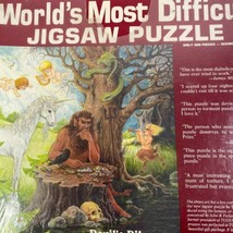 World's Most Difficult Devil's Dilemma Jigsaw Puzzle NEW - $34.64