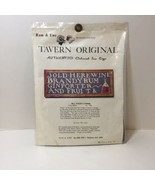 Will Stacey's Tavern Crewel Embroidery Kit Tavern Original Colonial Inn ... - $19.34