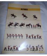 Vtg ALYMER Photo Catalog Zulu~British Soldiers~Civil War Toy Soldiers AB... - $8.11