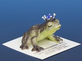 Birthstone Frog Prince Kissing September Sapphire Miniatures by Hagen-Renaker image 2