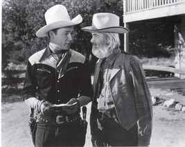 "Roy Rogers  & George Gabby Hayes   8""X10"" Black & White RR-11 - $4.90"