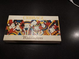 Vintage Waddingtons Cribbage Set Card Game 1970s - $29.95