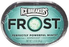 Ice Breakers Frost Wintercool Mints, 1.2-Ounce Pucks(Pack of 6) - $14.21