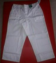 Landau Men's 7 Pocket Trouser Nurse Med Scrubs Bottoms Pants XL White NE... - $7.91