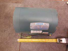 LEESON C6T34NK17B ELECTRIC MOTOR 3450 rpm 460v 2hp New  image 1