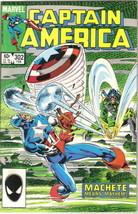 Captain America Comic Book #302 Marvel Comics 1985 VERY FINE+ - $2.50