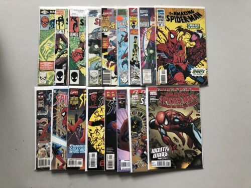 Lot 17 Amazing Spider-Man 1963 1st Series Annual #14-28 1996-2001 VF Very Fine