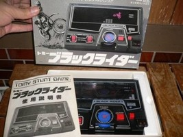 TOMMY LSI Game Black Rider from Showa-period Palyable Unused C14 - $1,040.00